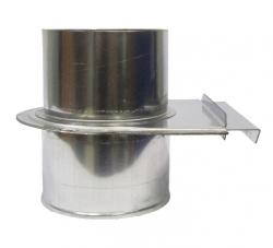 Шибер-задвижка ф 130, AISI 439/1,0мм