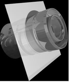 Монтажная площадка ф 130х200, AISI 439/439, 1,0мм/0,5мм, (К)