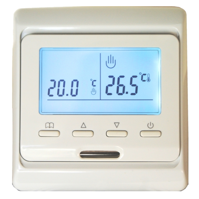 Терморегулятор ЖК дисплей нед.таймер Lavita E51.716 (3,5 kw)