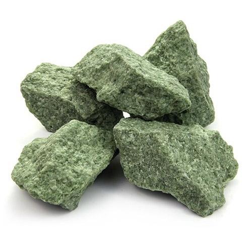 Камень для бани Жадеит колотый средний (10 кг)