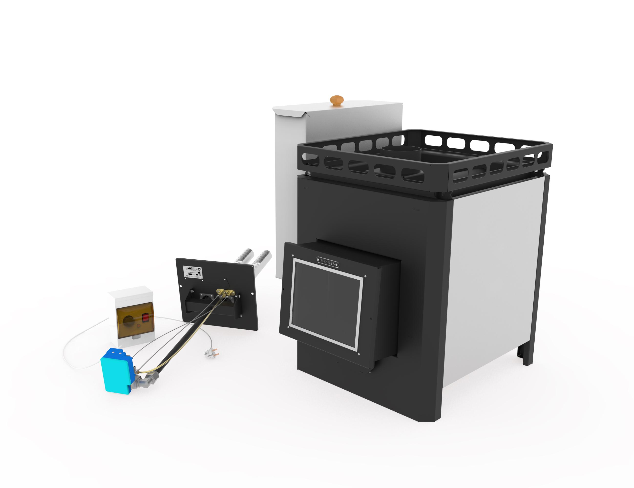 Печь для бани на газу «RST (г. Туймазы)» — RST (32кВт)