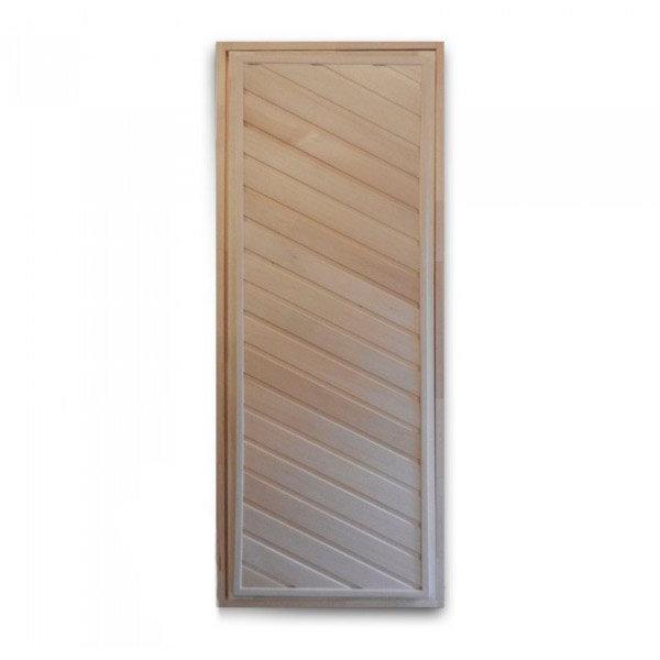 Банная дверь глухая (липа) 160*70